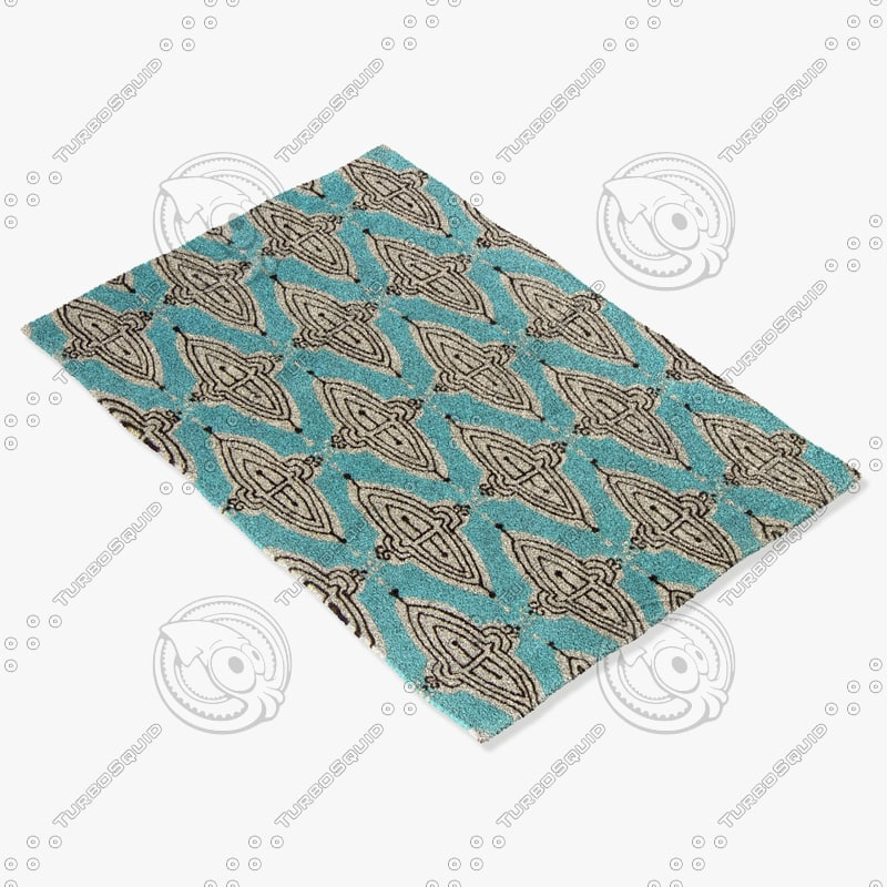 3dsmax chandra rugs jes-28902