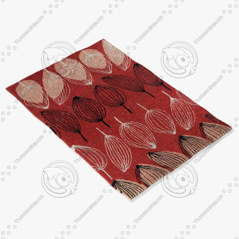 chandra rugs jes-28904 3d 3ds