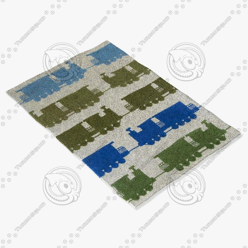 3d chandra rugs kid-7625