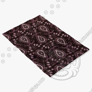 3ds max chandra rugs lin-32000