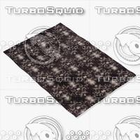 chandra rugs lin-32002 3d model