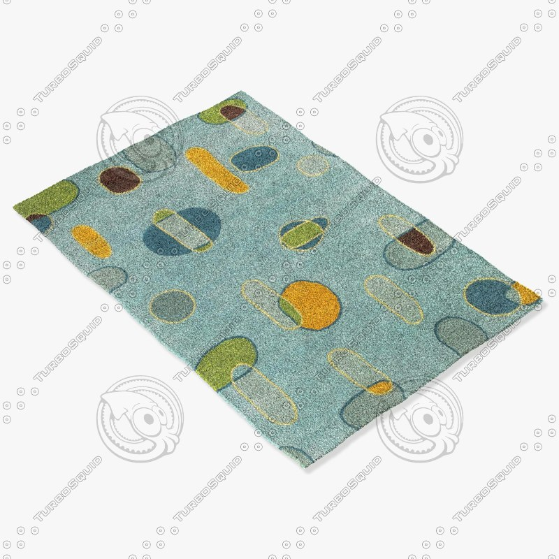 chandra rugs los-1813 3d max