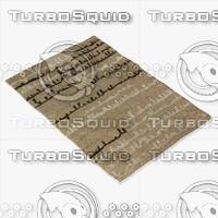 chandra rugs nav-5007 3d model