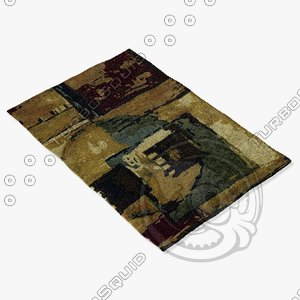 chandra rugs nir-6600 3d model