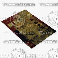 chandra rugs nir-6602 3d model
