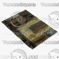 chandra rugs nir-6603 3d model