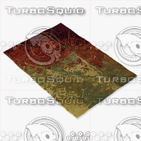 chandra rugs nir-6604 3d model