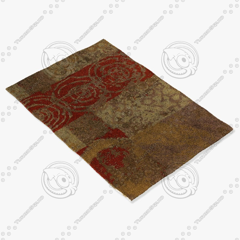 3d chandra rugs nir-6605 model