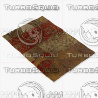 3d chandra rugs nir-6605 model
