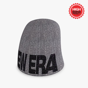 3d model winter bonnet