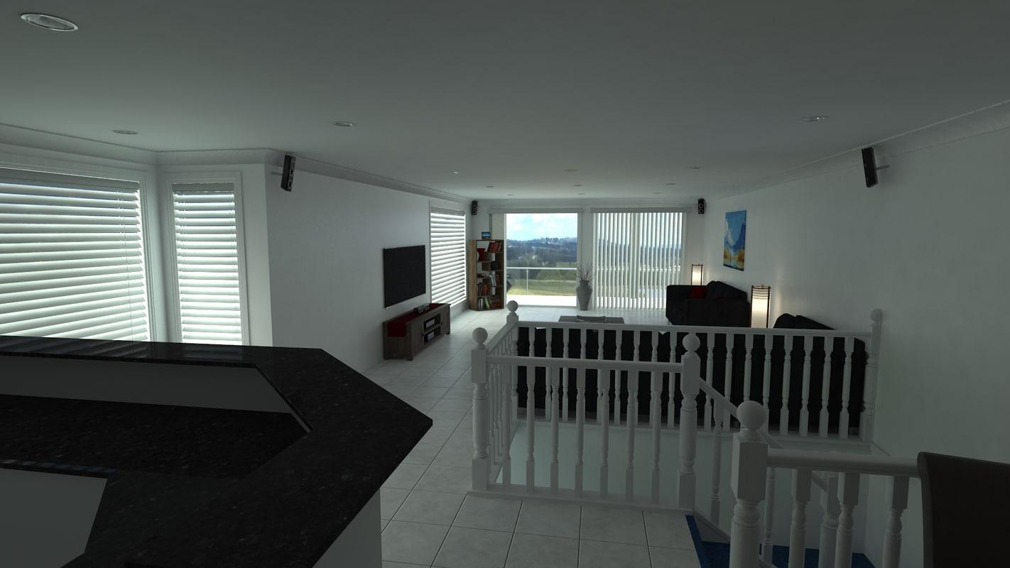 3d model house apartment