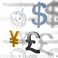 main currency 3d model