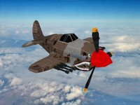 3d fbx plane