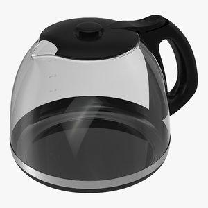 coffeepot coffee 3d 3ds
