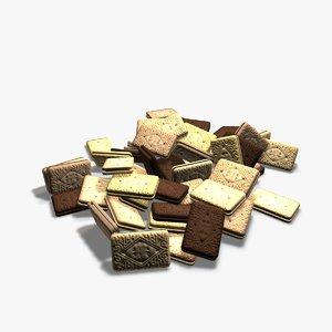 5 biscuits 3d 3ds