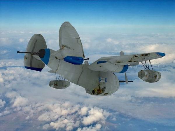 bomber plane x