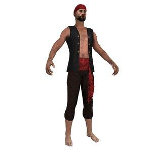 max pirate bandana
