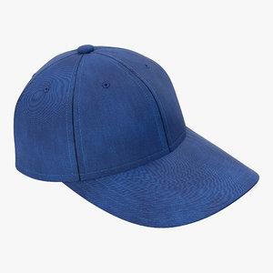 baseball cap 3d c4d