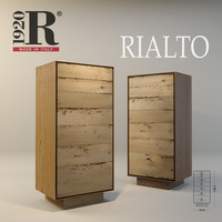 Wood modern sideboards Rialto RIVA 1920