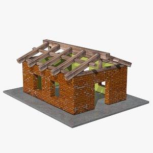 3d model house construction