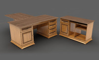 Taranko - Senator desk & side tables