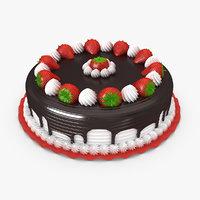 strawberry cake max