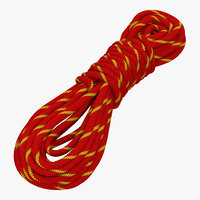 Rock Climbing Rope Red