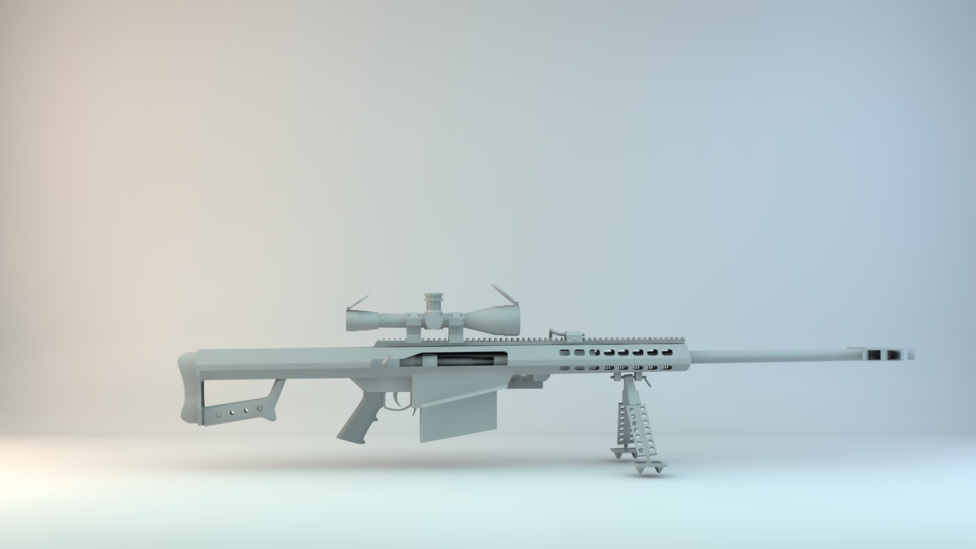 free 3ds model barrett 50