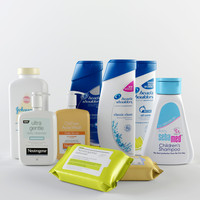 cosmetics s 3d max