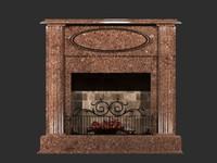 Fireplace Breccia Pernice