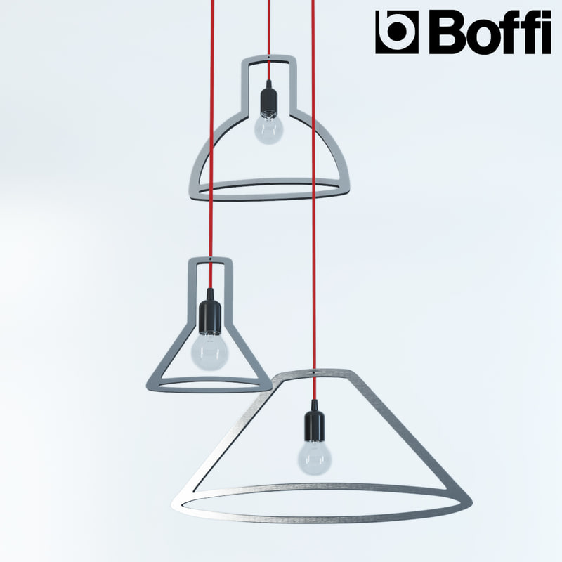 3d model of boffi lamp