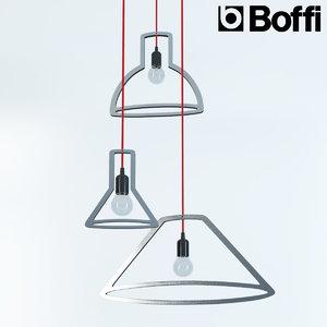 3d model of boffi lamp