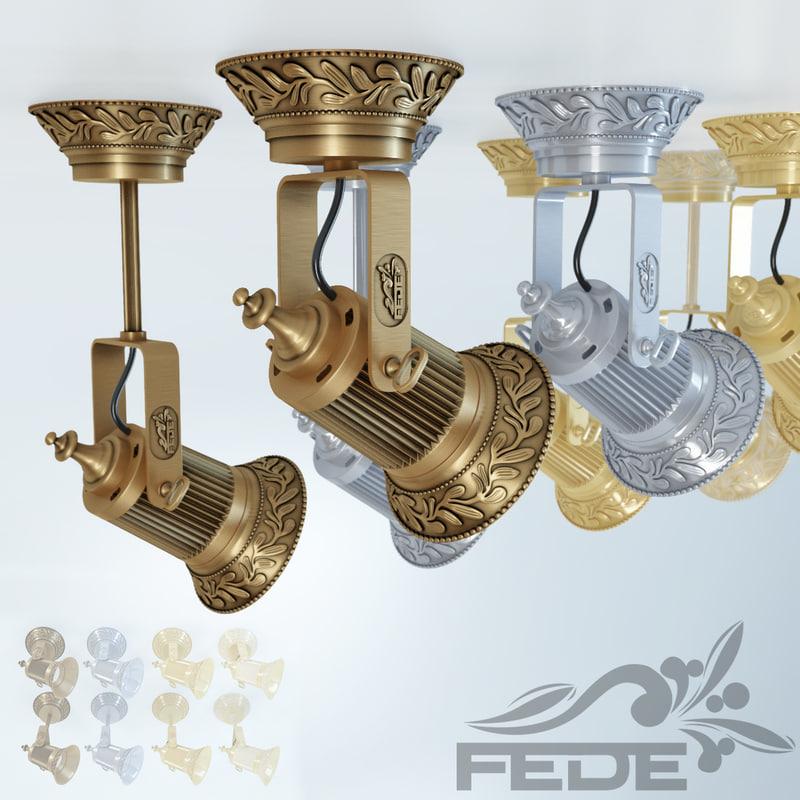 3d vienna fede led lighting