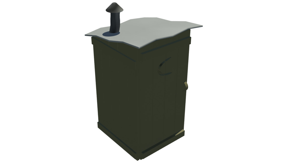 outhouse 3d max