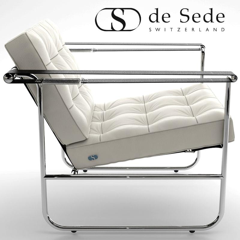 desede he-113 armchair 3d model