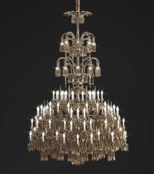 chandelier 3d obj