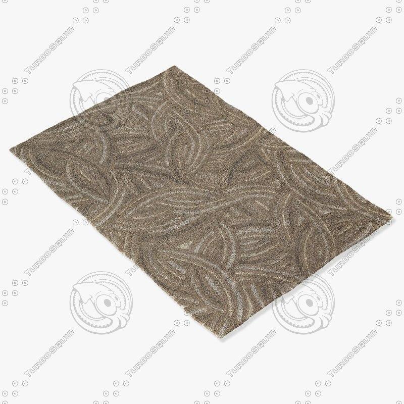 3d model chandra rugs pen-12900