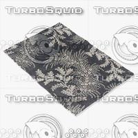 3d chandra rugs row-11107 model