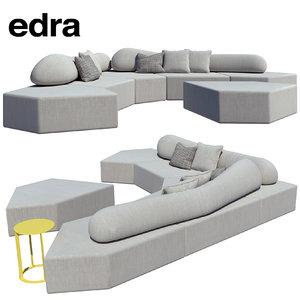 3d edra sofa prodotti divani