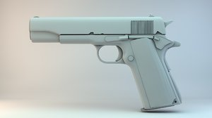 free colt m1911 3d model