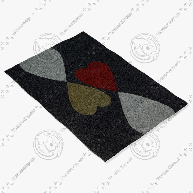 3ds max chandra rugs row-11131