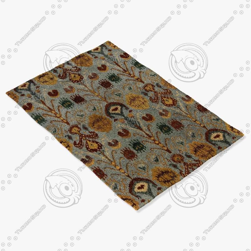 3dsmax chandra rugs rup-39608