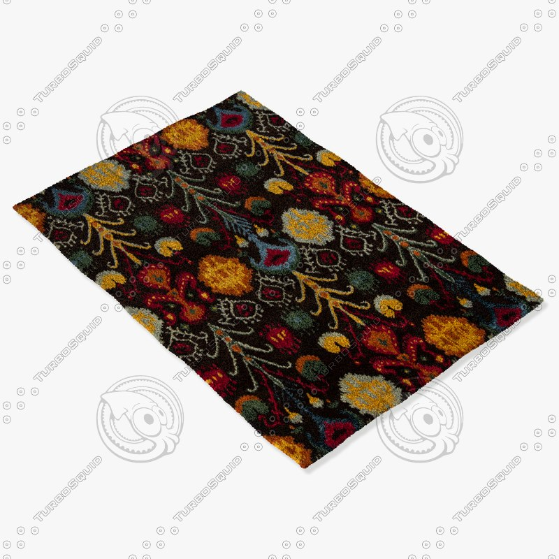 3d model of chandra rugs rup-39609