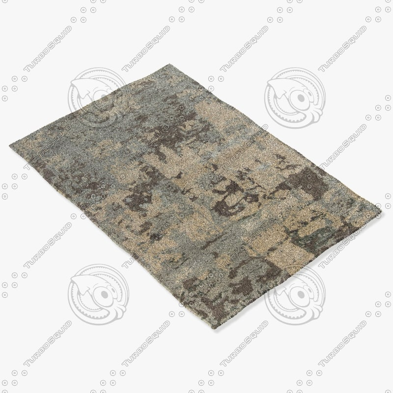 chandra rugs rup-39610 3d max