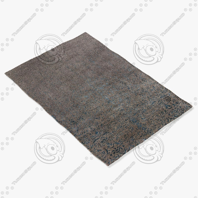 chandra rugs rup-39612 3d max