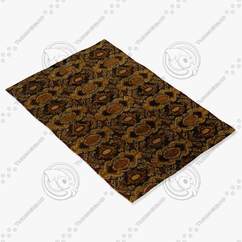 chandra rugs rup-39622 3d model