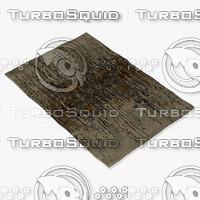 chandra rugs spr-29100 3d model
