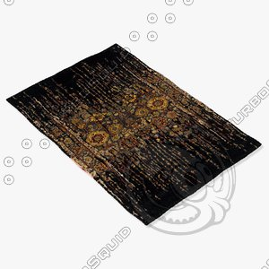 3d model chandra rugs spr-29101