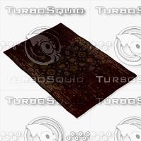 chandra rugs spr-29104 3d model