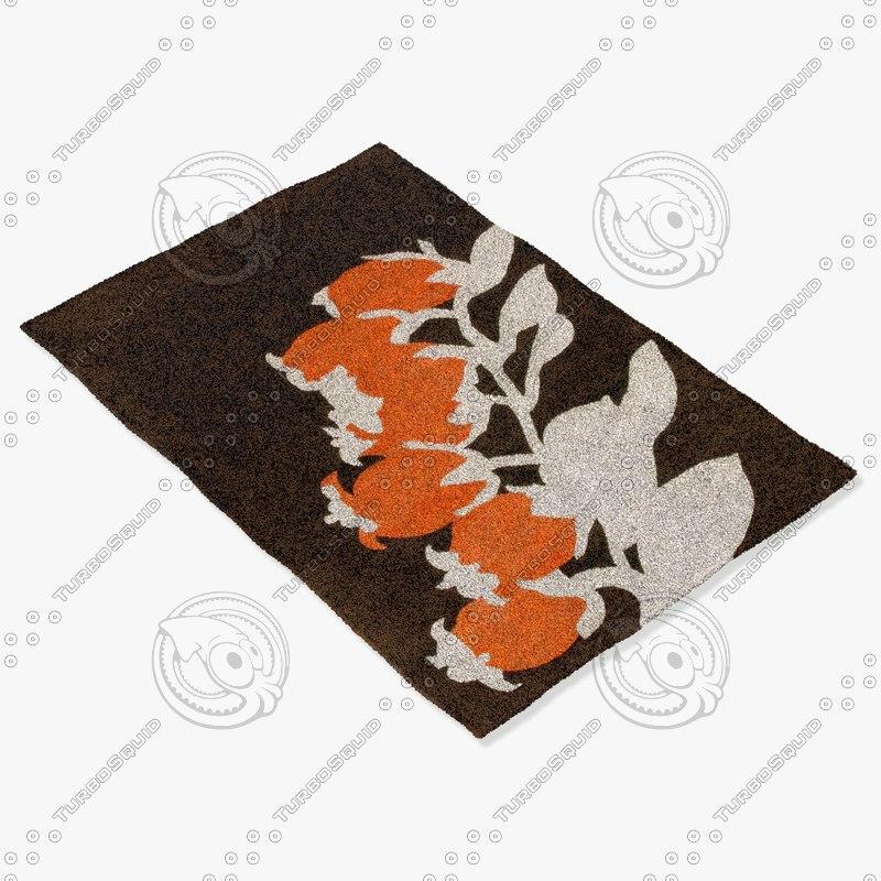 chandra rugs t-bbo 3d model
